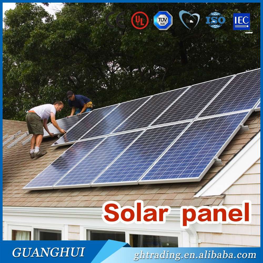 China PV module suppliers poly crystalline solar panel 300w 30v poly 310 w 320watt home solar panel