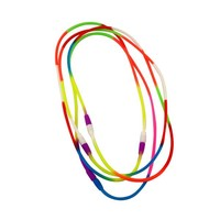Best quality designer beads necklace silicone jewelry factory