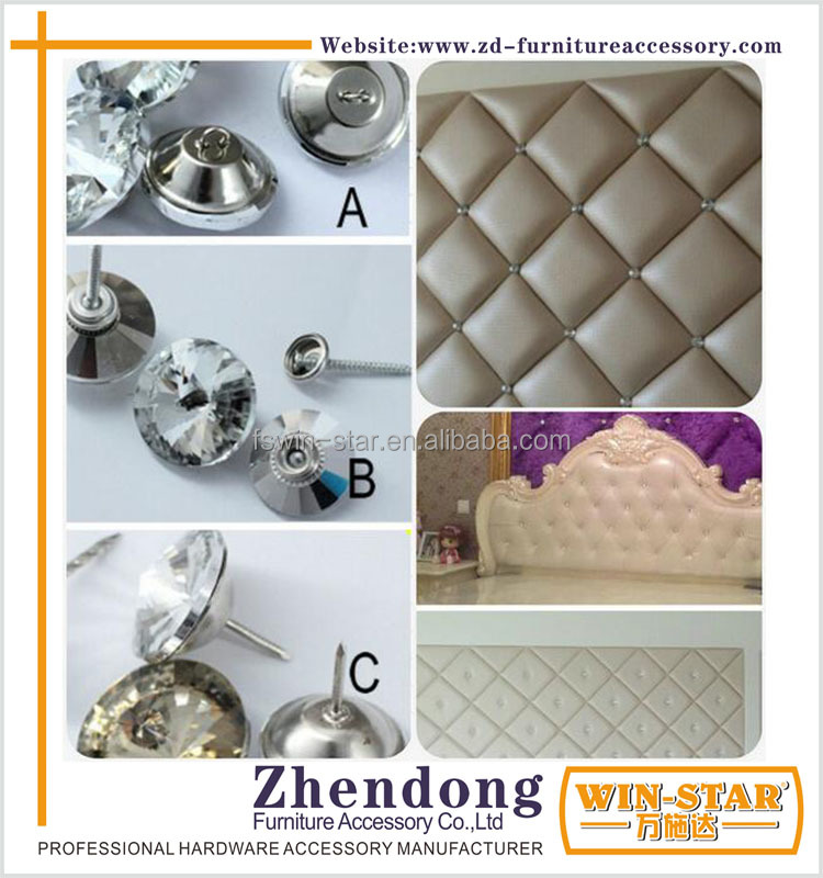 ZD-<strong>L023</strong> Wholesale Glass Button For Sofa Decoration