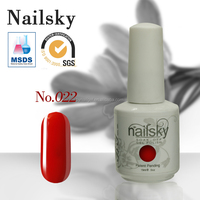 2016 Natural material and Good quality 150 colorful gel nail polish for nails