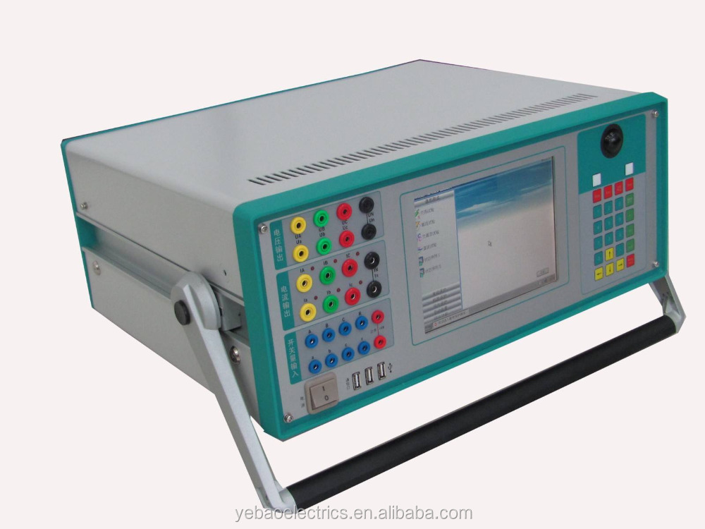 Microcomputer relay Protection tester / Secondary Current Injection Test Set