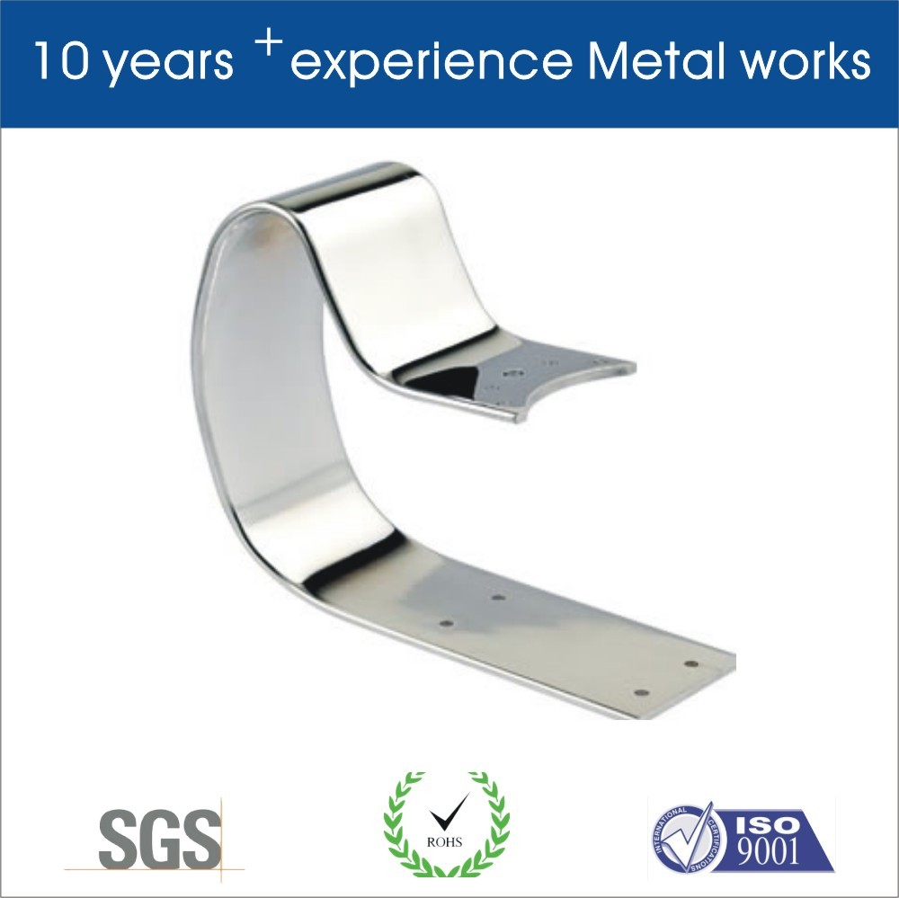 Custom u shaped metal brackets by 13 years experienced factory with GOOD price