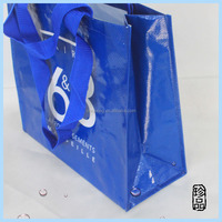 recycled promotional custom shopping bag pp woven