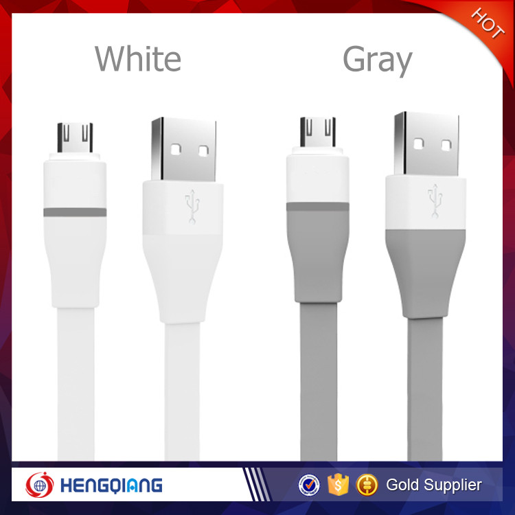 Wholesale Smart Phone USB Cable with LED Light Auto-disconnect Data Cable
