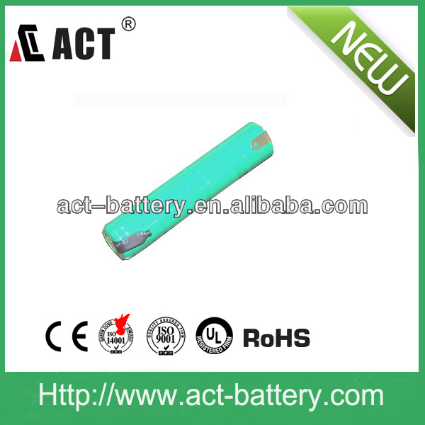 NiMH Battery Pack 4.8V 280 mAh 1/3AA with Tabs