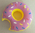 MOQ 100pcs Factory Directly Cheaper Party Supplies Donut Design Inflatable Beer Can Holder