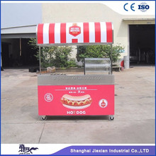 JX-CR200 Shanghai best kiosk provider frozen yogurt trailer