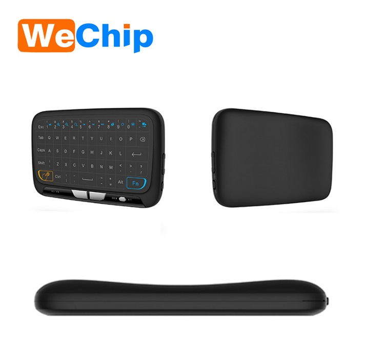2.4g h18 fly mouse with touch pad Wireless keyboard h18 remote control via bluetooth
