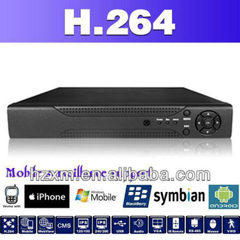 iDVR6004T-H 4ch full 960H & D1 realtime CCTV DVR hybrid intelligent DVR