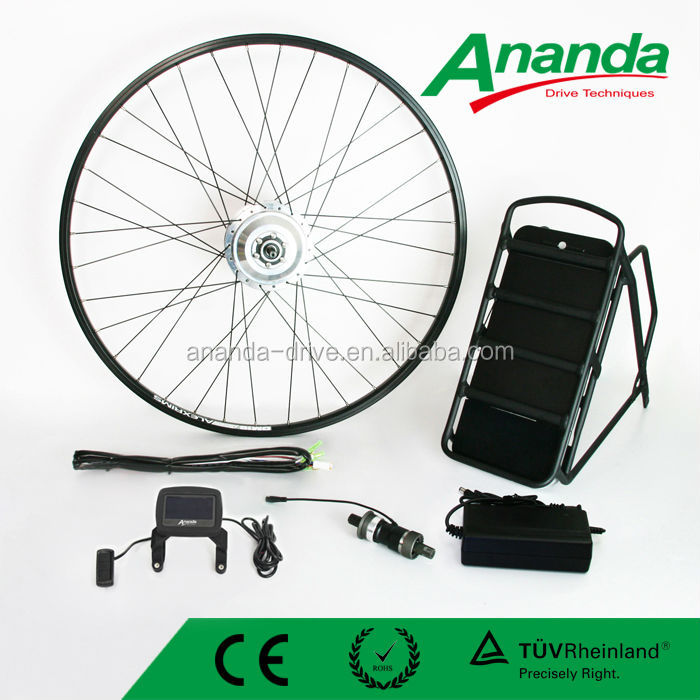 36v 200w ebike kit, bicycle engine BLDC gear motor with battery