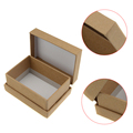 High quality fashion design square paper watch box small paper box