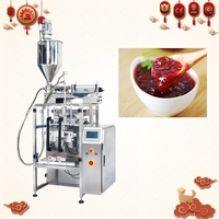 Automatic Molasses / gel Ice Pop/ Jam Packing filling and sealing Machine