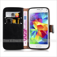 Magnet Flip wallet case card slot stand phone leather back cover for Samsung Galaxy S6 plus