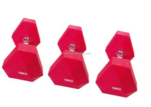New Style Triangle Rubber Dumbbell