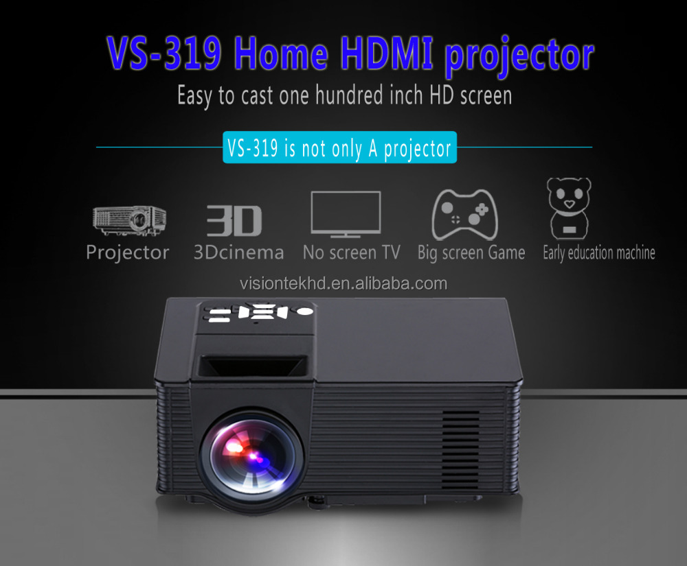 Newest Proyector Build-in Android Wifi LED Projector HD 1080p HDMI Support Digital Video Game DVD Home Cinema Projector