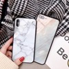 New Product Tempered Glass Phone Cases for IPhone X Customized Background Silicone Cell Case for IPhone 8 7 plus 6