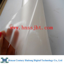 transparent plastic film for inkjet printing