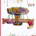 Super Cool Amusement Rides Candy Flying Chair