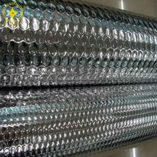 Reflective Silver Alu Foil Bubble Insulations Shielding Roof Thermal Insulation Material