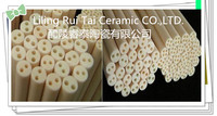 High temperature refractory insulation porous multi-bore alumina ceramic tube