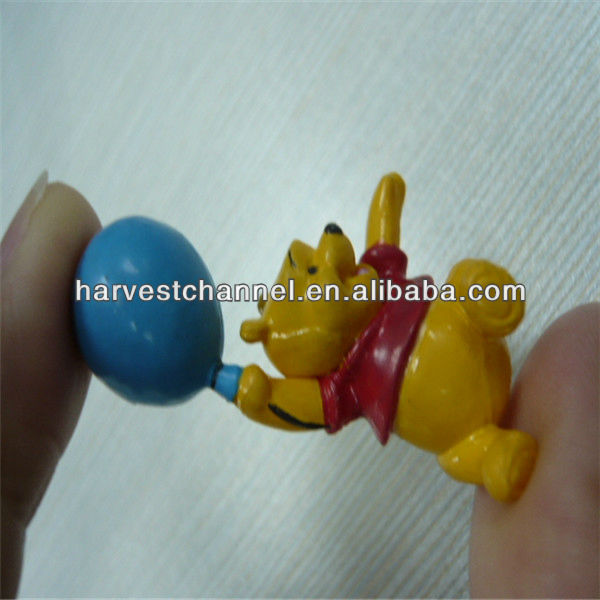 Plastic custom OEM pu toy figure, stress toy figure ,advertising mini toy