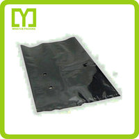 Yiwu wholesale side gusset black ldpe high quality planting pot plastic bags