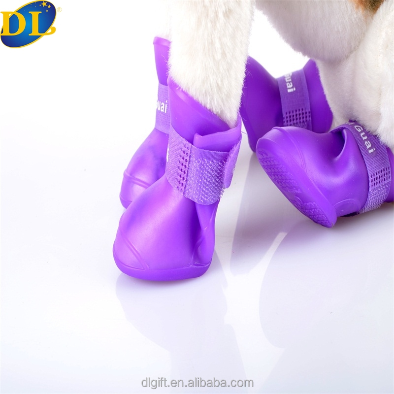 Portable Dog Rain Boots Little Pet Cat Snow Shoes