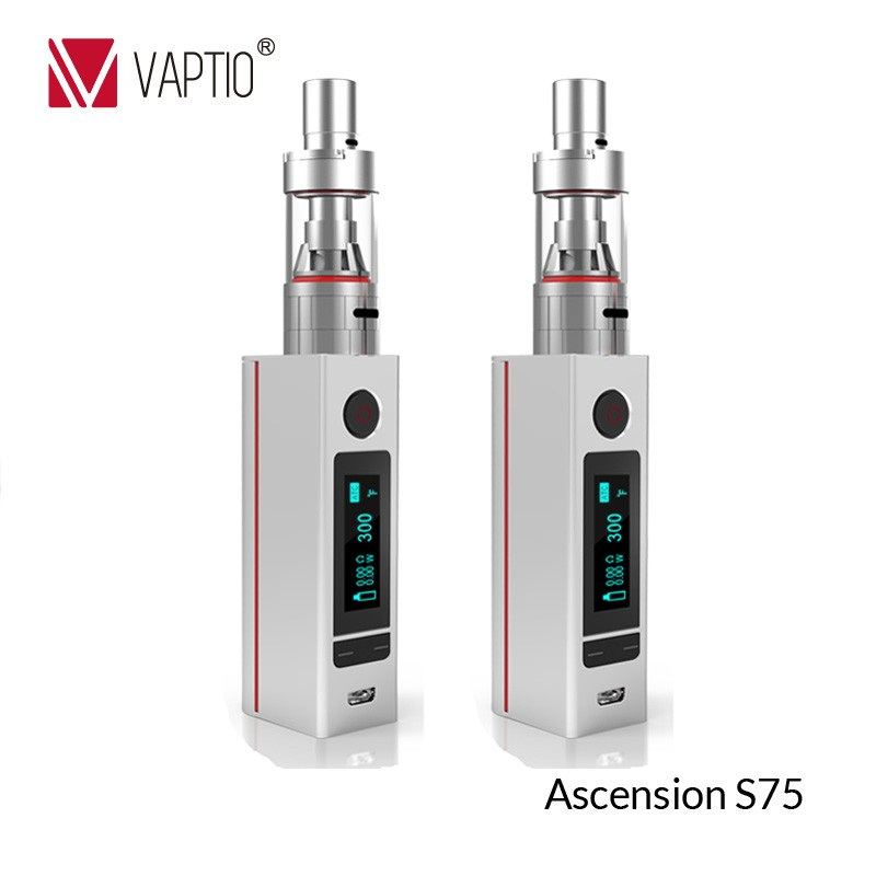 upgrade Vaptio 75W ATC clearomizer stainless steel electronic cigarette mexico