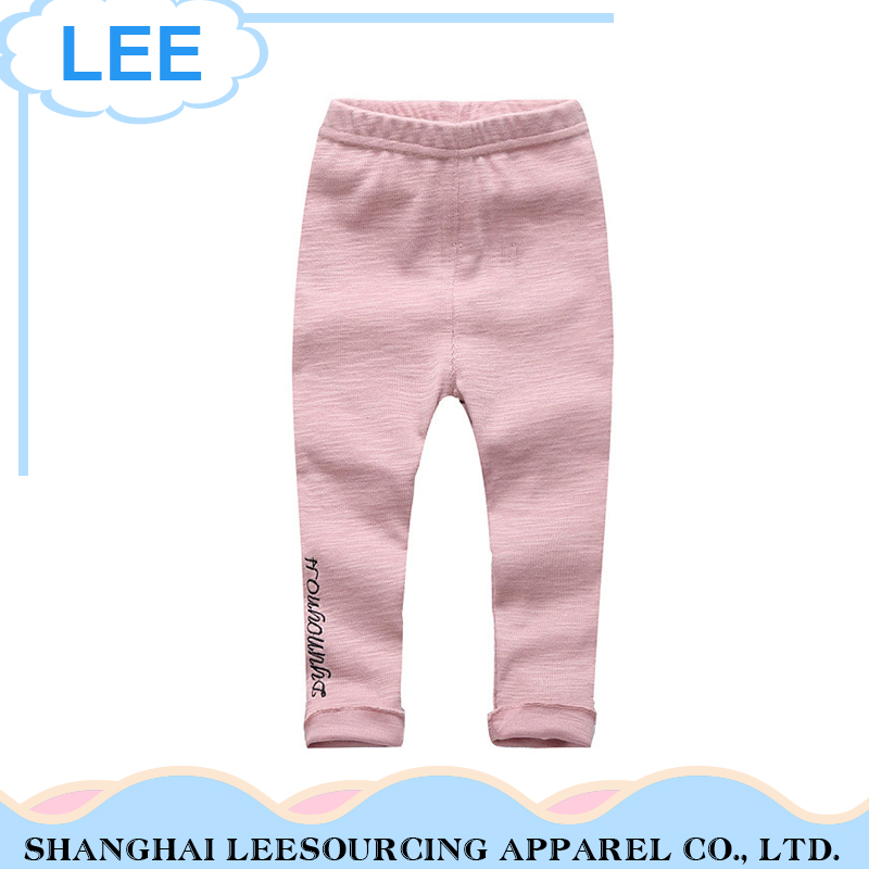 Fashion 100% Cotton Baby Girls Leggings Manufacturer Stripped Kids Tights Legging Pants