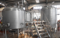 Micro Beer brewery plant beer equipment,Top Fermentating draft Beer brewery plant