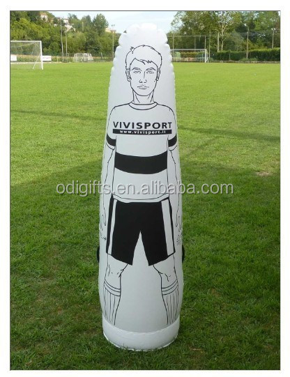 inflatable training dummy for football and soccer