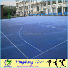 polyurethane interlock sport floor for futsal soccer court