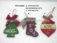 NEW DESIGN 4-1/2''H X'mas Hanging Ornaments