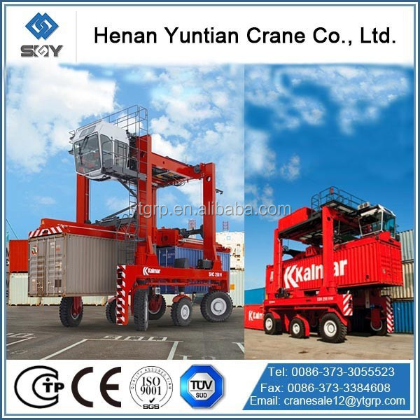 Container Straddle Carrier Rubber Tyre Gantry Crane for Sale