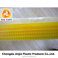 polypropylene material ribbed plastic sheets
