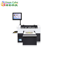 Latest DTG printer A3 size textile printing machine direct to garment for sale