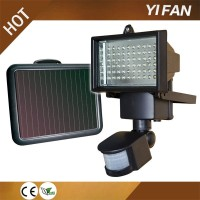 European Type - 60leds Solar Powered LED Wall Light -IP65 Waterproof Lamp Garden/Yard Installation