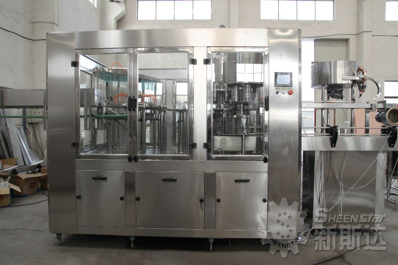 Vitamin water processing machinery