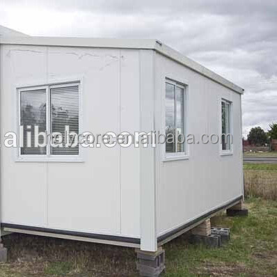 plastic prefabricated mobile living house container for sale made of holypan