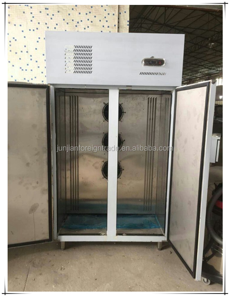 s304 tainless steel body commercial blast freezer used for kitchen and hotel with bitzer compresor made in china