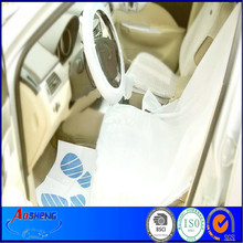 5pcs No. of front type disposable car seat cover kit