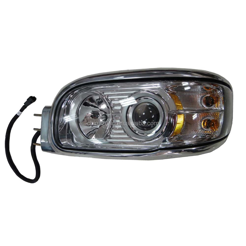 HEADLAMP PASSENGER &DRIVE SIDE HEADLIGHT Assembly fits PETERBILT 389