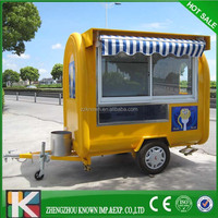 Hot Sale Mobile Food Cart Design, Vegetable Carts Designs, Mobile Candy Carts KN-220H