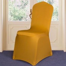 2016 new style 100% polyester various cover universal spandex chair cover material