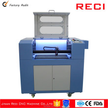 RC-A6040V CNC laser acrylic/wood cutting machine price with honeycomb/blade platform