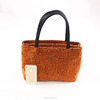 Lady Faux Suede bag Guangdong Factory Costomized Handbag