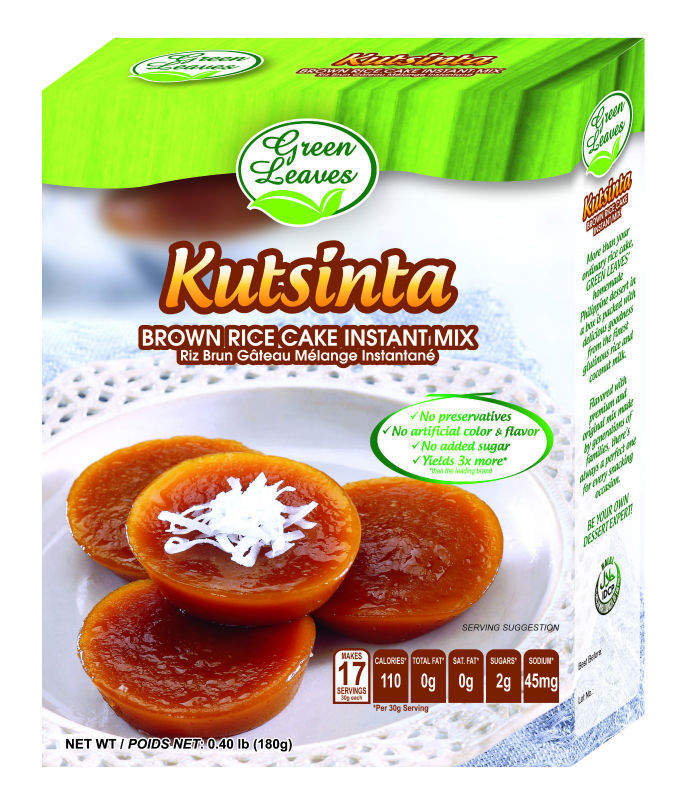 Brown Rice Cake Instant Mix - Philippine Kutsinta