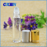 Wholesale 10ml 15ml glass roll on perfume bottle for filling perfume, deodorant, essence, ampoule, cosmetic serum, liquid