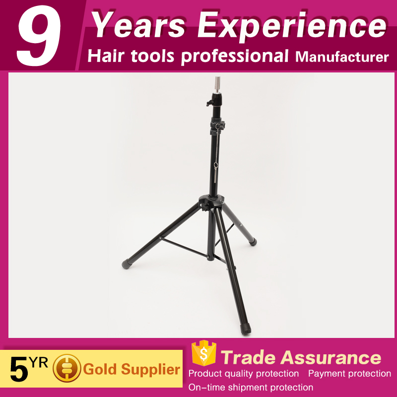 guangzhou factory manufacturer mannequin head stand tripod for salon