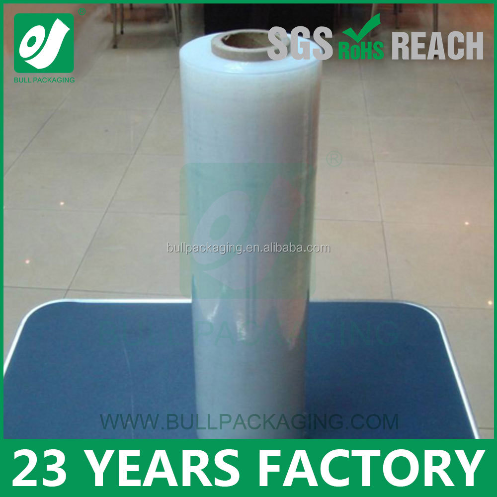 Multiple Extrusion Processing Type LLDPE stretch film for hand use